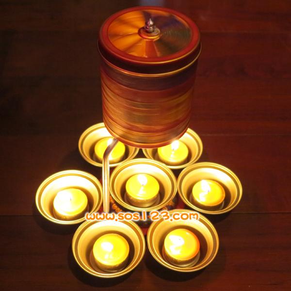 火轉經輪燈2