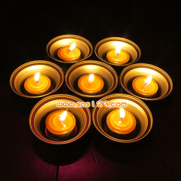 七星酥油燈5