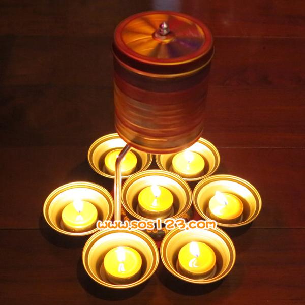 七星燈,萬安酥油燈,光明燈