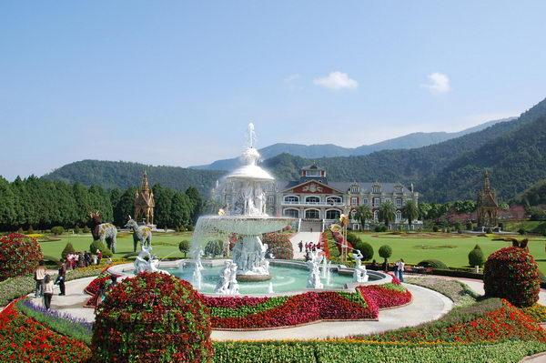 欧式花园喷泉
