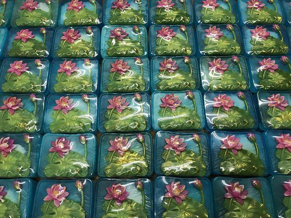 蓮花手工皂1