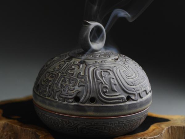 朱雀陶瓷香爐,香爐1