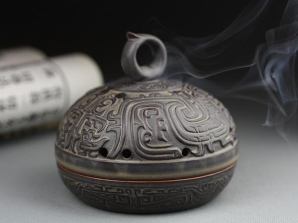 朱雀陶瓷香爐,香爐2
