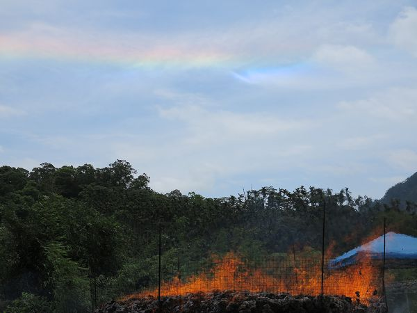 煙供法彩虹光