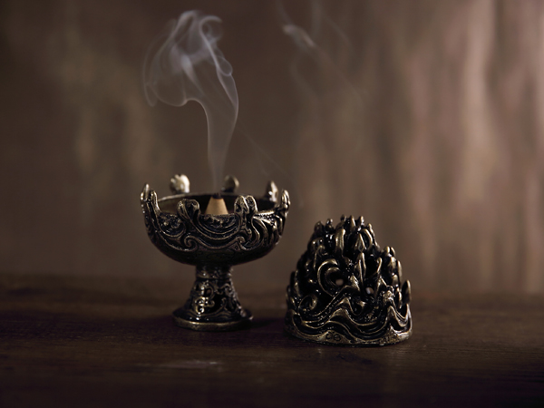 煙供粉,煙供爐,香爐